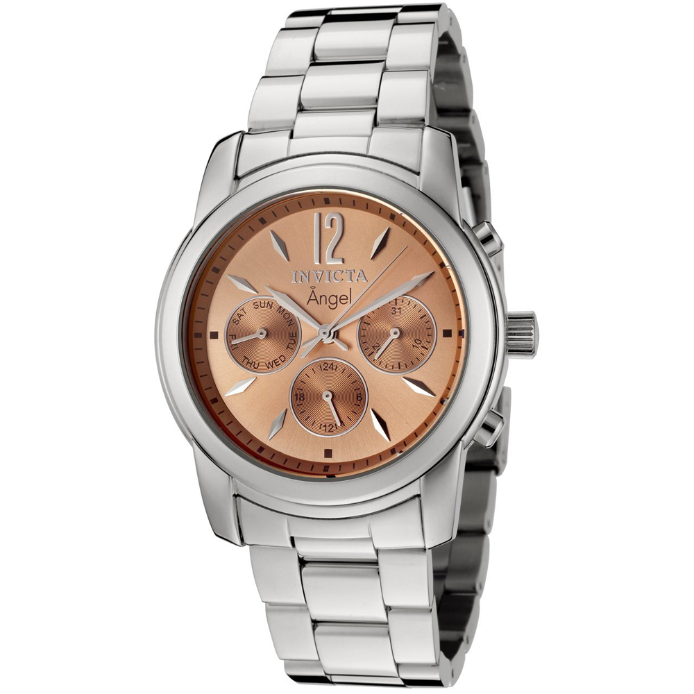 invicta 0462 s gold sunray stainless