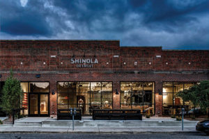 Shinola watch store