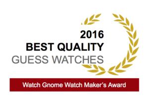 guess watch award